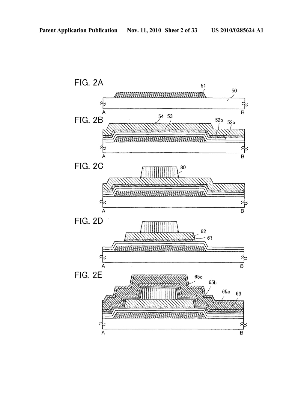 DISPLAY DEVICE AND MANUFACTURING METHOD OF THE SAME - diagram, schematic, and image 03