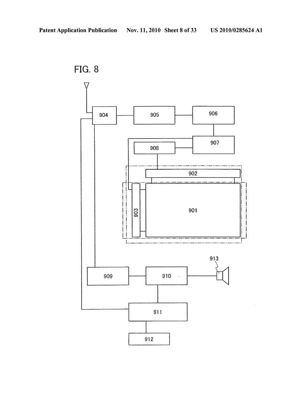 DISPLAY DEVICE AND MANUFACTURING METHOD OF THE SAME - diagram, schematic, and image 09