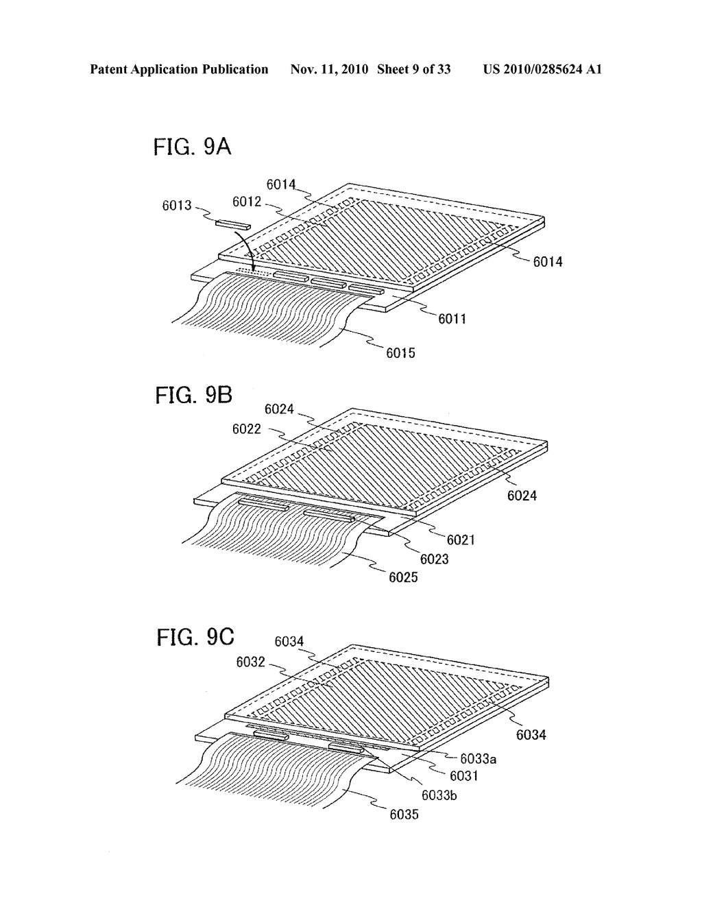 DISPLAY DEVICE AND MANUFACTURING METHOD OF THE SAME - diagram, schematic, and image 10