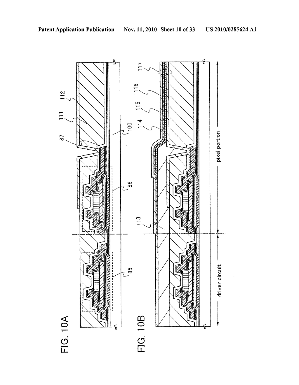 DISPLAY DEVICE AND MANUFACTURING METHOD OF THE SAME - diagram, schematic, and image 11