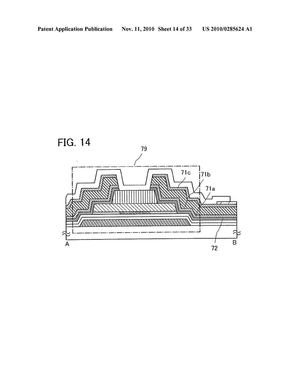 DISPLAY DEVICE AND MANUFACTURING METHOD OF THE SAME - diagram, schematic, and image 15