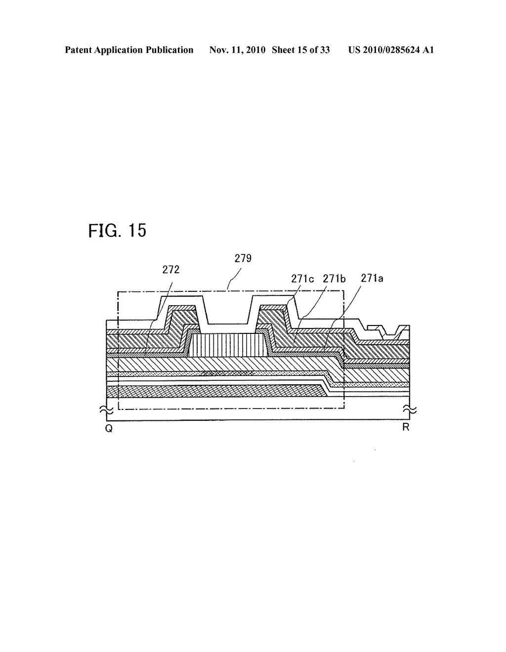 DISPLAY DEVICE AND MANUFACTURING METHOD OF THE SAME - diagram, schematic, and image 16
