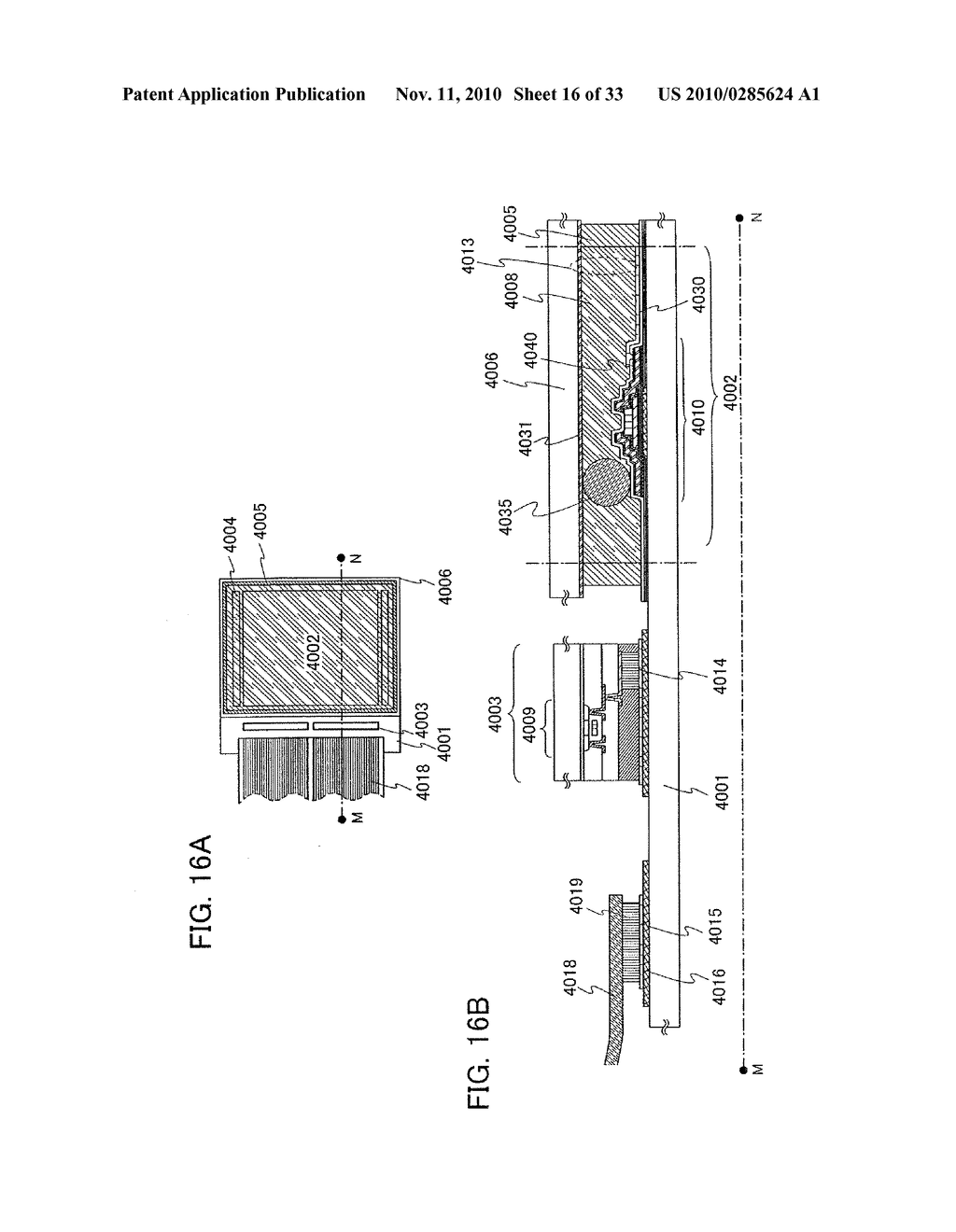DISPLAY DEVICE AND MANUFACTURING METHOD OF THE SAME - diagram, schematic, and image 17