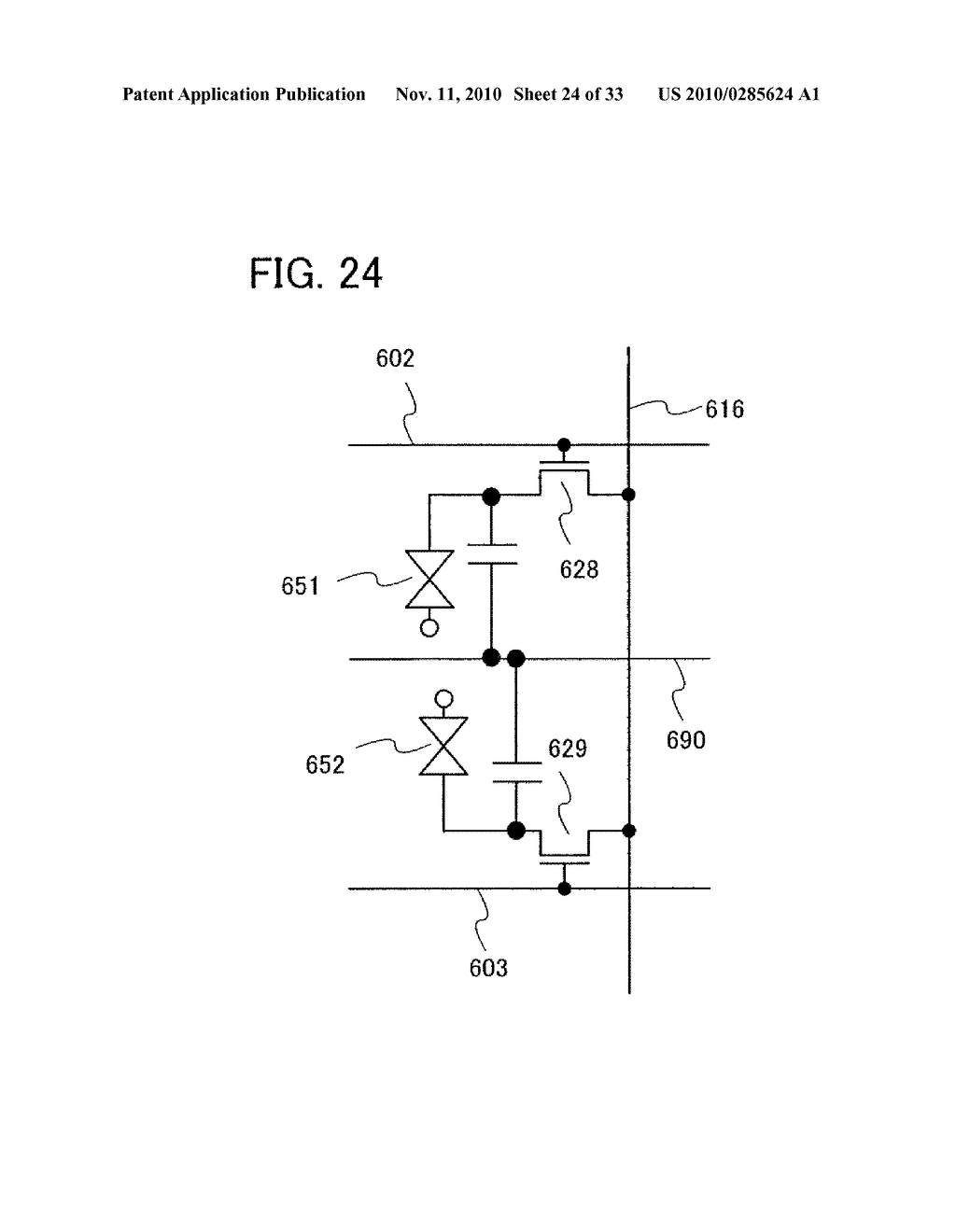 DISPLAY DEVICE AND MANUFACTURING METHOD OF THE SAME - diagram, schematic, and image 25