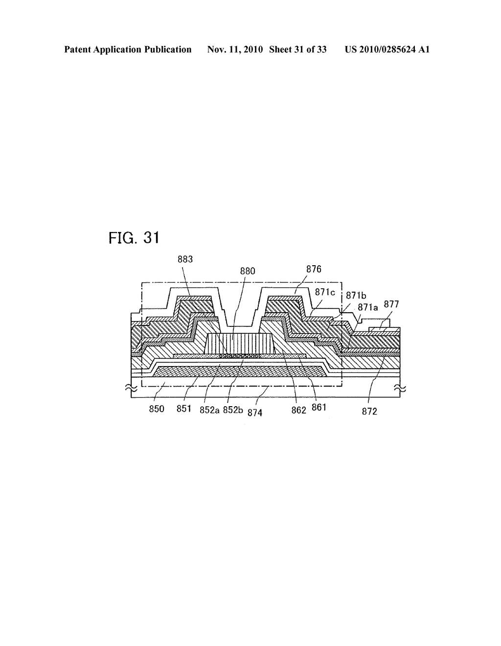 DISPLAY DEVICE AND MANUFACTURING METHOD OF THE SAME - diagram, schematic, and image 32