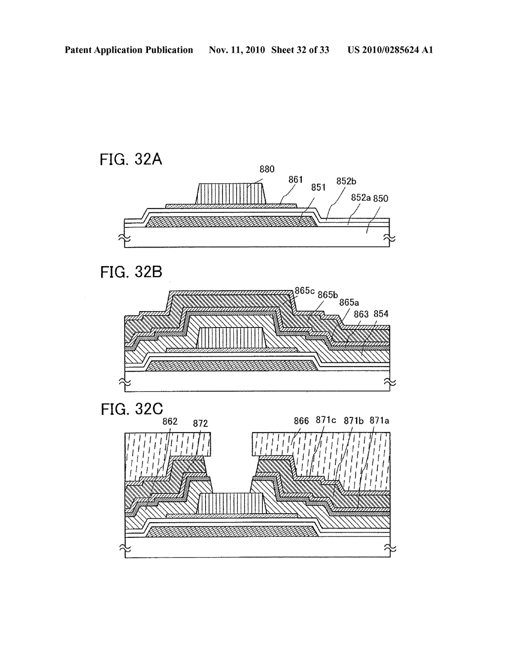 DISPLAY DEVICE AND MANUFACTURING METHOD OF THE SAME - diagram, schematic, and image 33