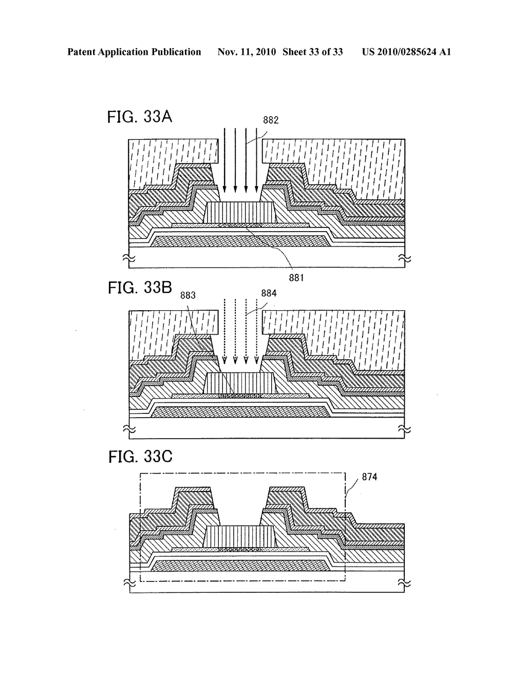 DISPLAY DEVICE AND MANUFACTURING METHOD OF THE SAME - diagram, schematic, and image 34