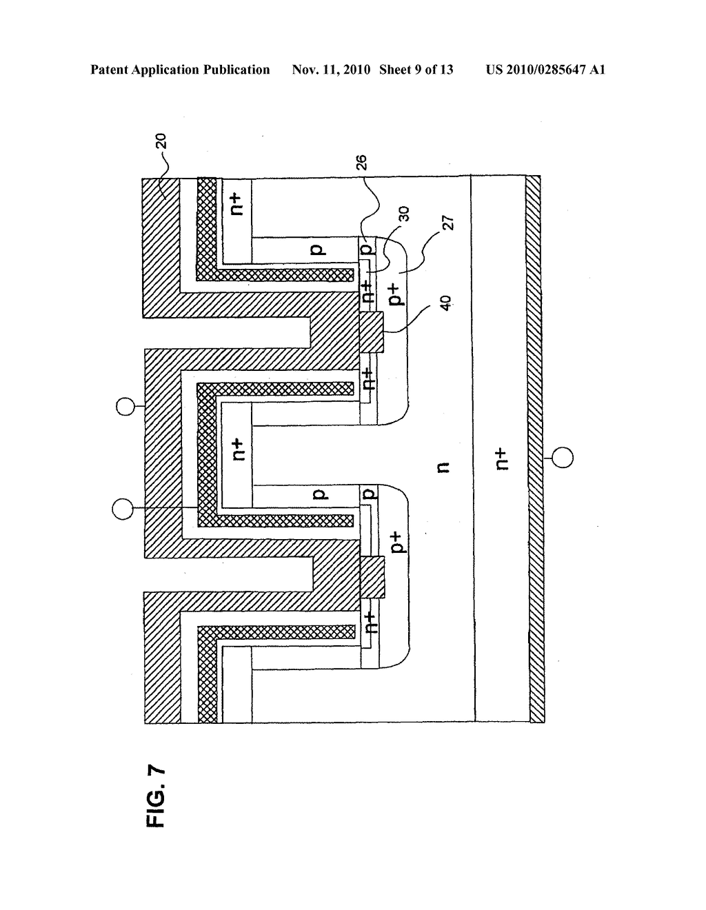 INSULATED GATE SILICON CARBIDE SEMICONDUCTOR DEVICE AND METHOD FOR MANUFACTURING THE SAME - diagram, schematic, and image 10