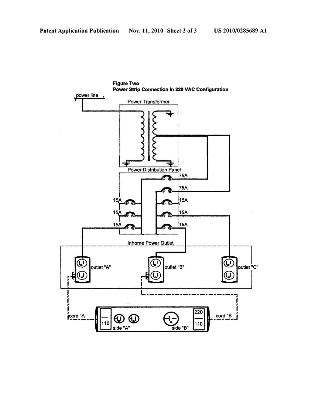 power strip schematic read all wiring diagram 12V Relay Wiring