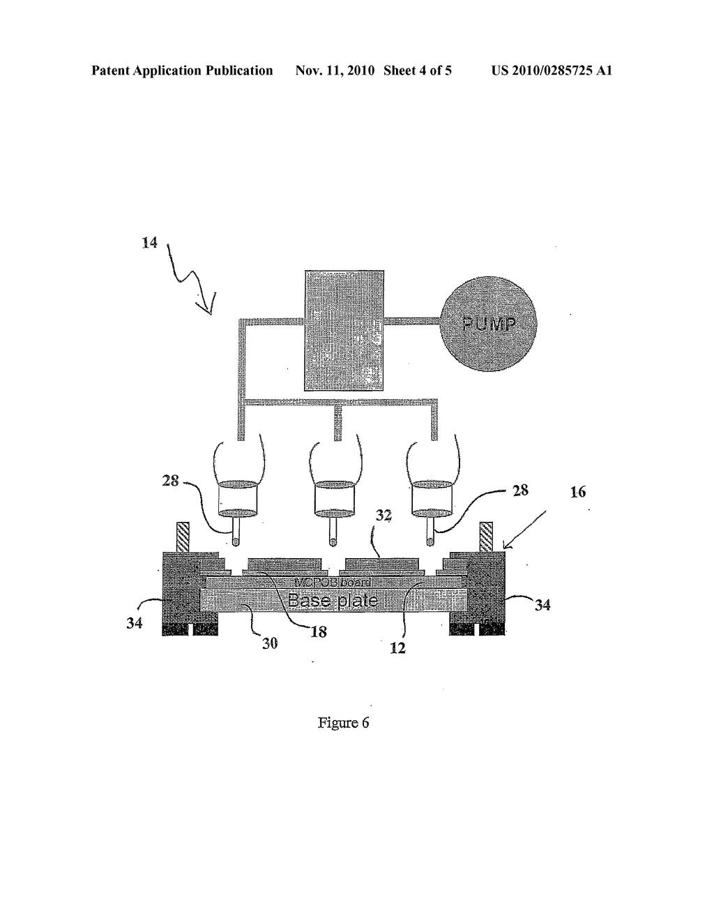 METHOD OF DEPTH ROUTING AN ELECTRONIC LAYUP AND APPARATUS FOR EFFECTING SUCH A METHOD - diagram, schematic, and image 05
