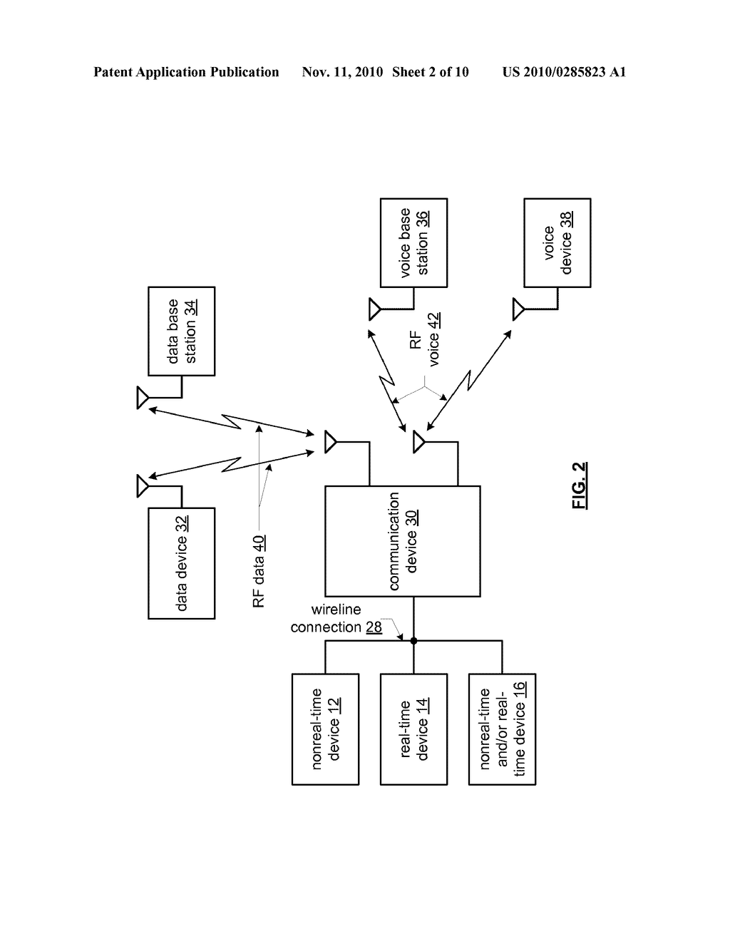 CONTROL DEVICE FOR ALLOCATING RESOURCES TO COMMUNICATION DEVICES THAT USE DIFFERING PROTOCOLS AND METHODS FOR USE THEREWITH - diagram, schematic, and image 03