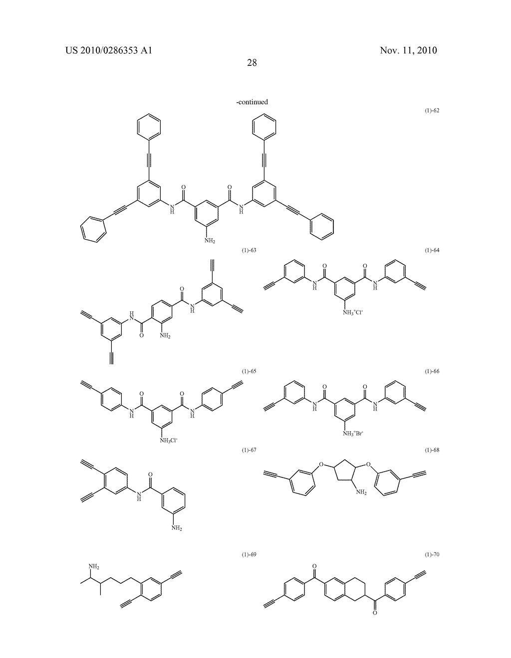 ACETYLENE COMPOUND, SALT THEREOF, CONDENSATE THEREOF, AND COMPOSITION THEREOF - diagram, schematic, and image 29