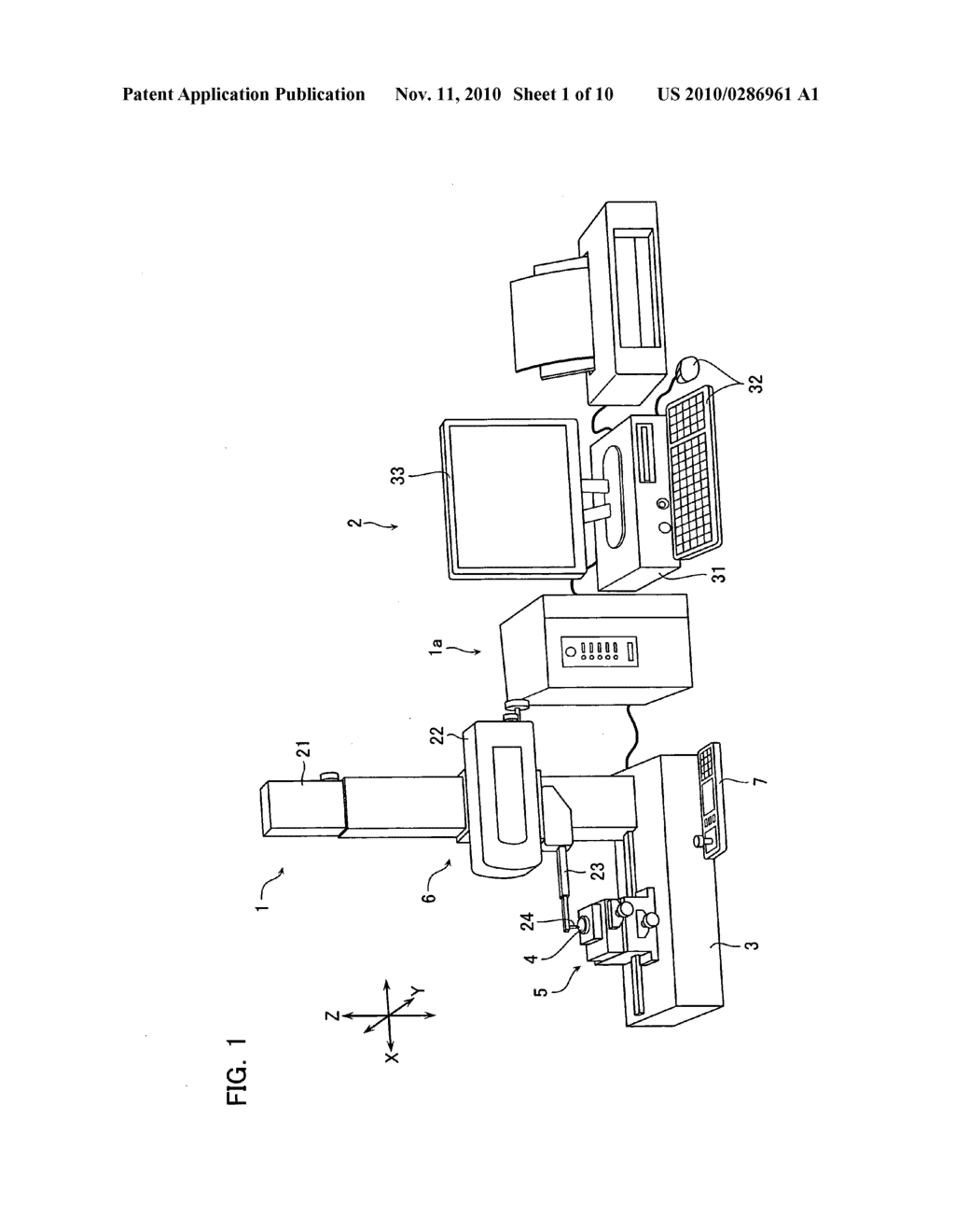 Surface texture measuring device, surface texture measuring method, and program - diagram, schematic, and image 02