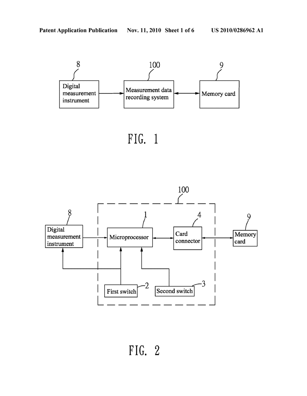SYSTEM AND METHOD OF RECORDING MEASUREMENT DATA - diagram, schematic, and image 02