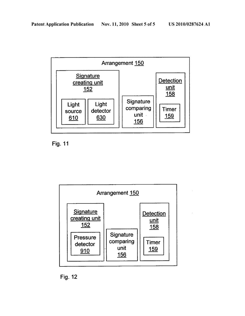 METHOD AND DEVICE FOR DETECTING THE OPENING OF A COVER ENCLOSING THE DEVICE - diagram, schematic, and image 06