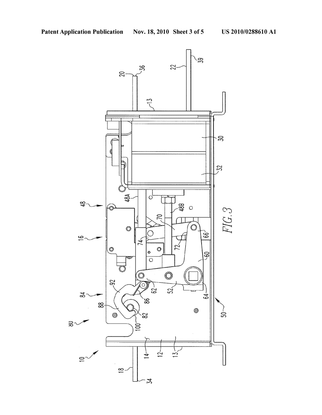 inertial catch for an automatic transfer switch power contactor rh patentsencyclopedia com power contactor circuit diagram Lighting Contactor Diagram