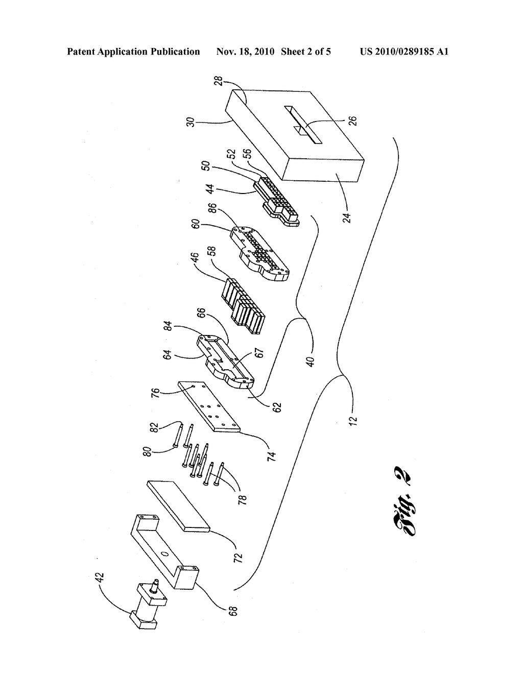 GROOVE IMPRINTING DEVICE FOR INJECTION MOLDED PARTS - diagram, schematic, and image 03