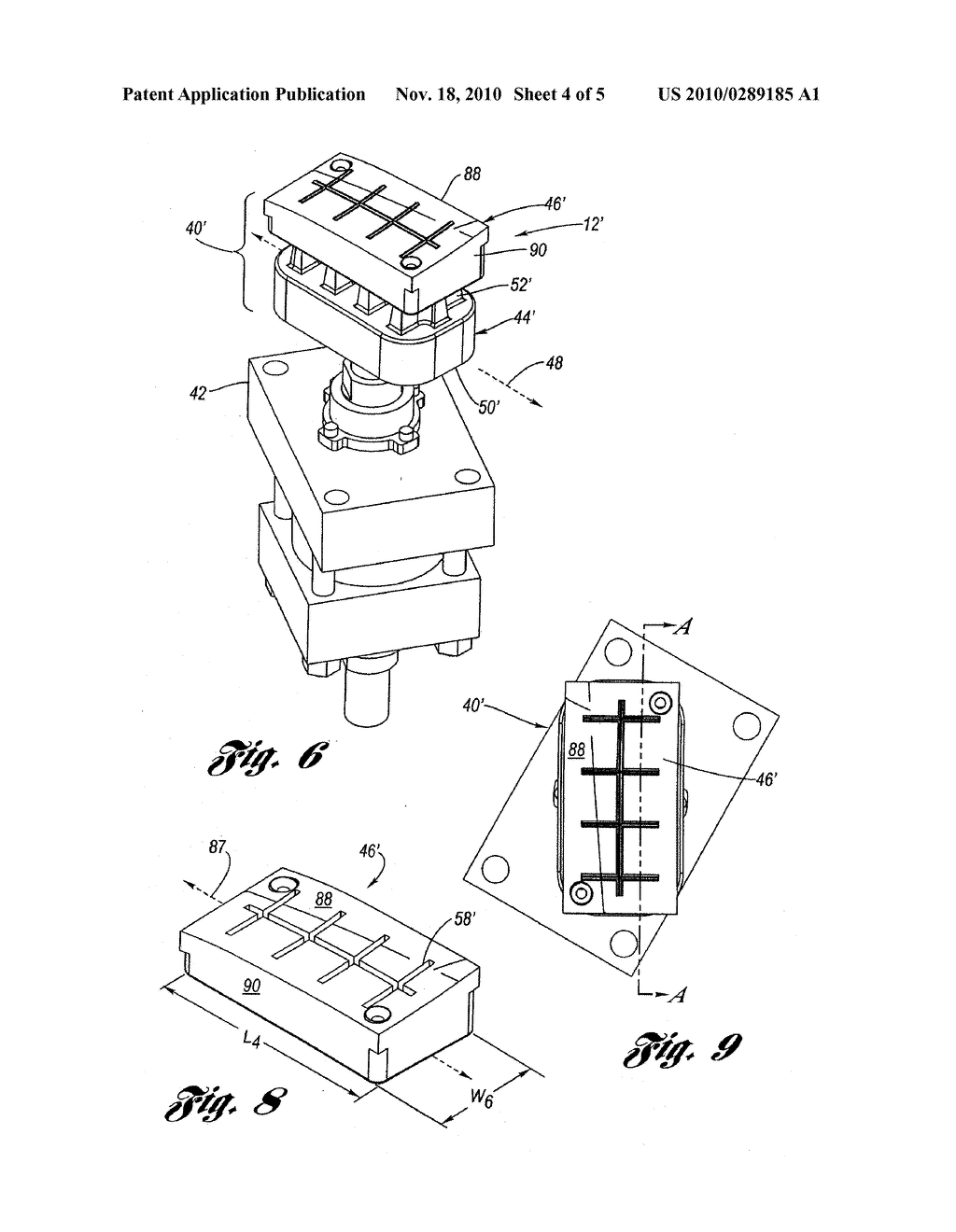 GROOVE IMPRINTING DEVICE FOR INJECTION MOLDED PARTS - diagram, schematic, and image 05