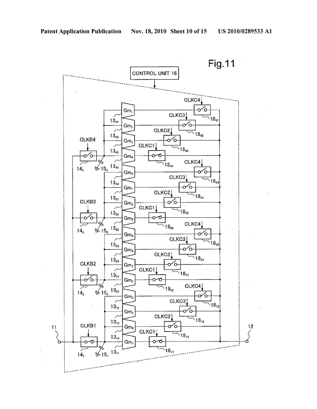 VOLTAGE CURRENT CONVERTER, DIFFERENTIATION CIRCUIT, INTEGRATION CIRCUIT, AND FILTER CIRCUIT USING THE CONVERTER, AND VOLTAGE CURRENT CONVERSION METHOD - diagram, schematic, and image 11