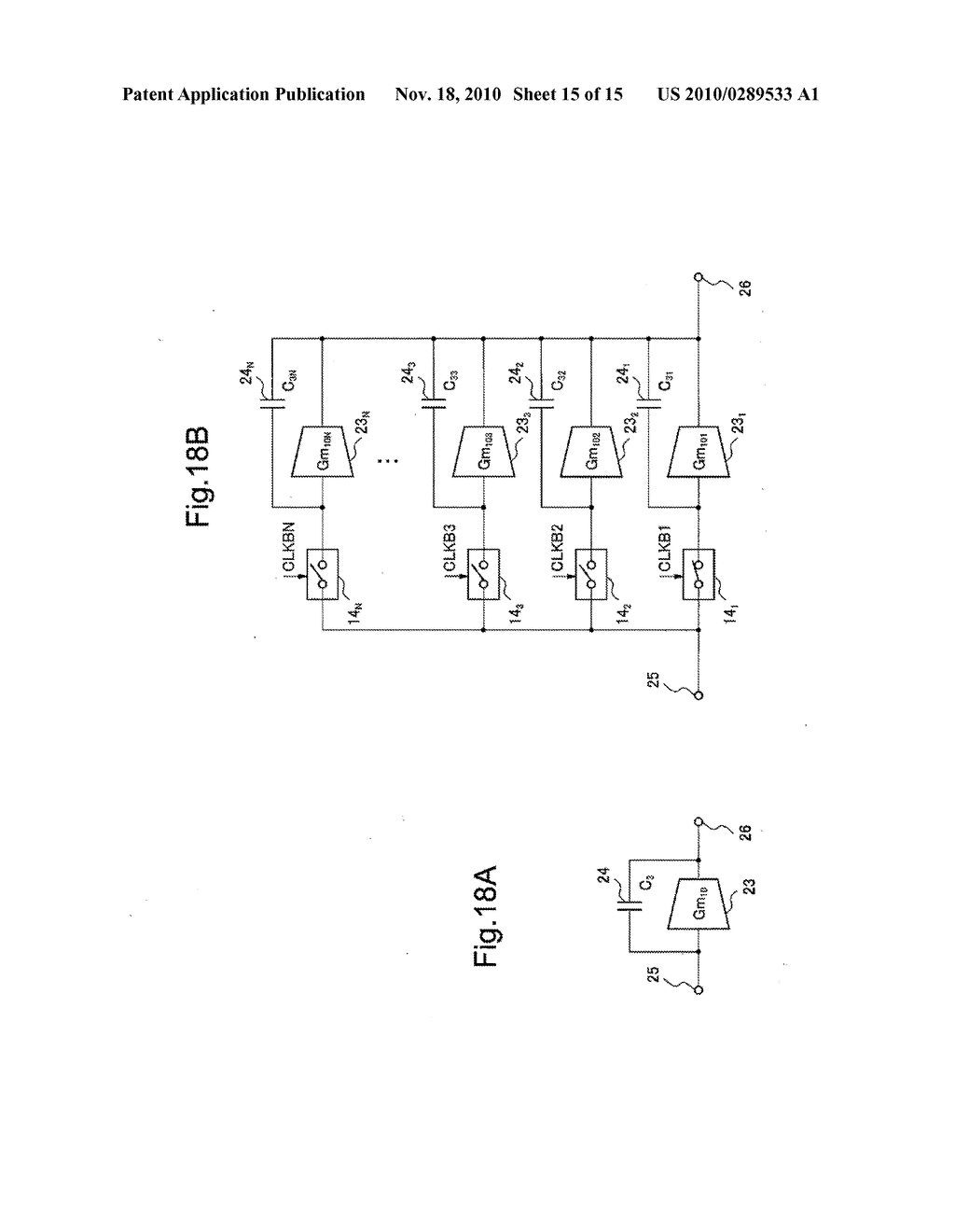 VOLTAGE CURRENT CONVERTER, DIFFERENTIATION CIRCUIT, INTEGRATION CIRCUIT, AND FILTER CIRCUIT USING THE CONVERTER, AND VOLTAGE CURRENT CONVERSION METHOD - diagram, schematic, and image 16