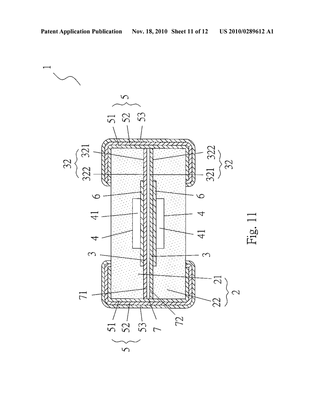 CURRENT PROTECTION DEVICE AND THE METHOD FOR FORMING THE SAME - diagram, schematic, and image 12