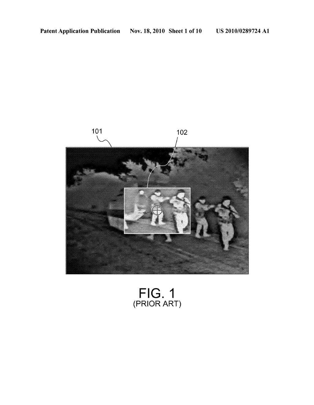 System and Method for Video Image Registration in a Heads Up Display - diagram, schematic, and image 02