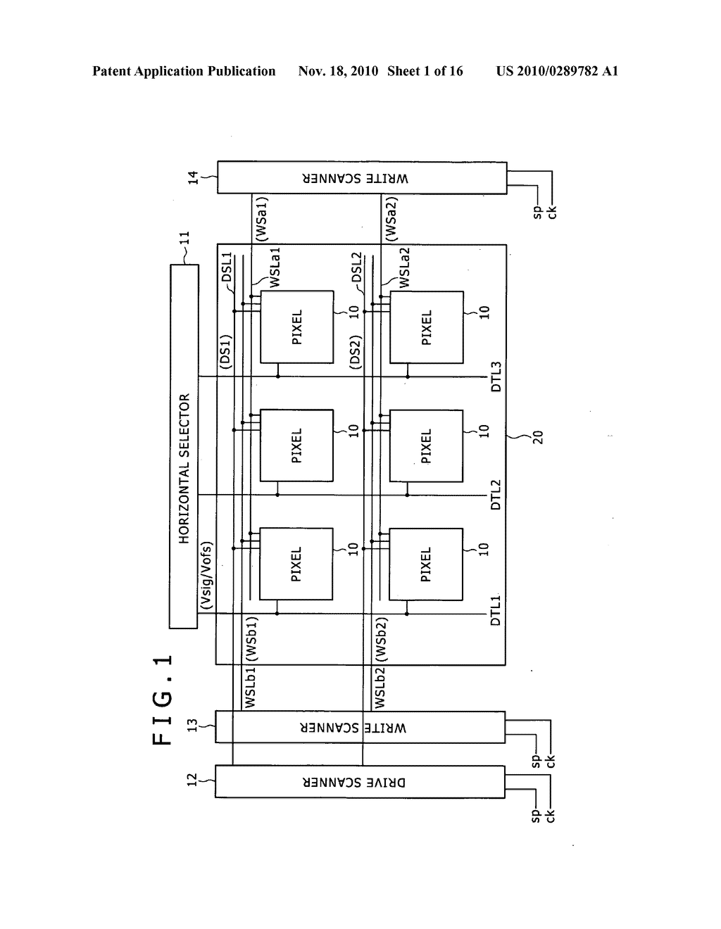 Pixel circuit, display apparatus, and driving method for pixel circuit - diagram, schematic, and image 02