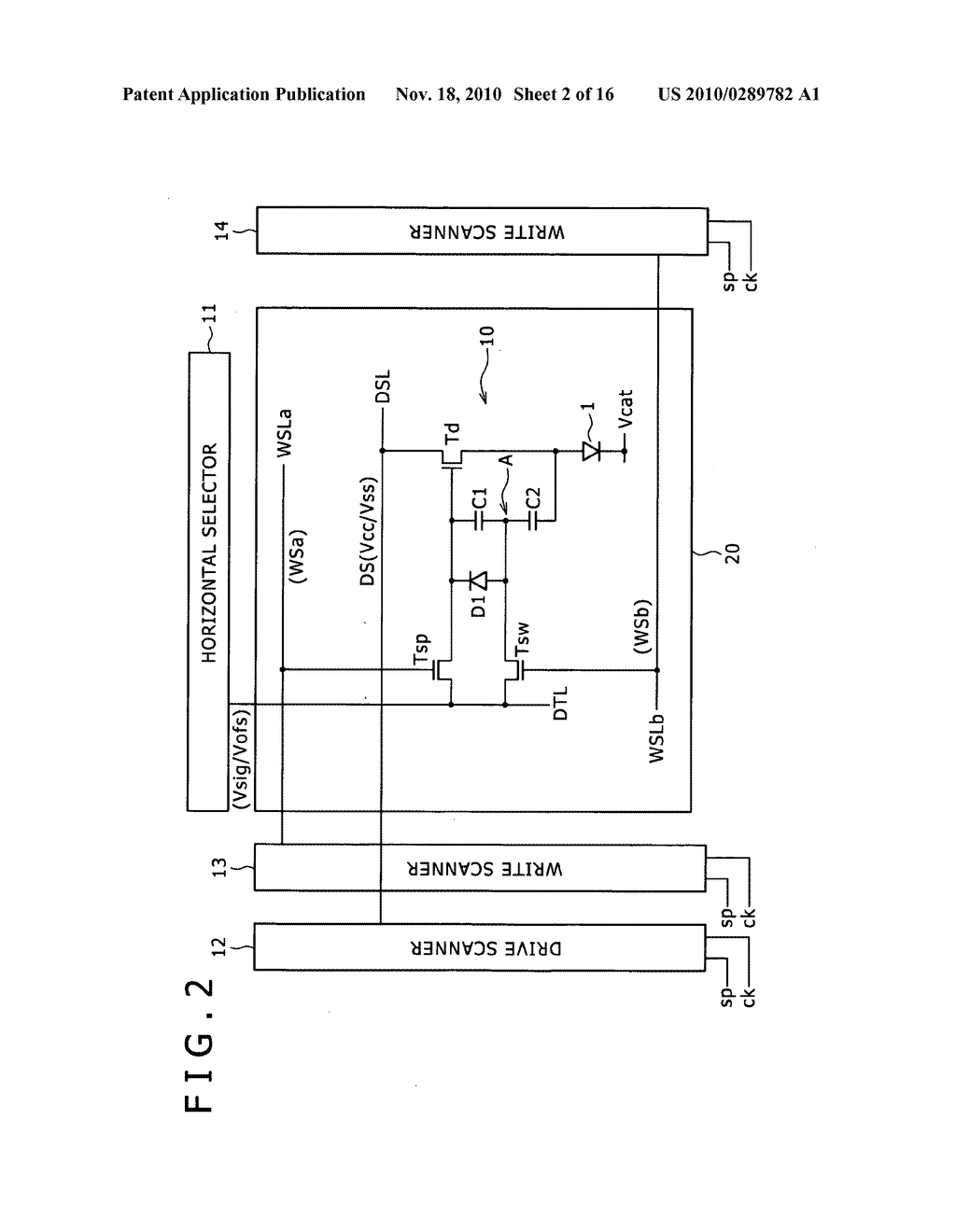 Pixel circuit, display apparatus, and driving method for pixel circuit - diagram, schematic, and image 03