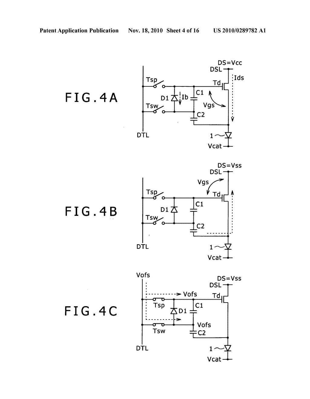 Pixel circuit, display apparatus, and driving method for pixel circuit - diagram, schematic, and image 05