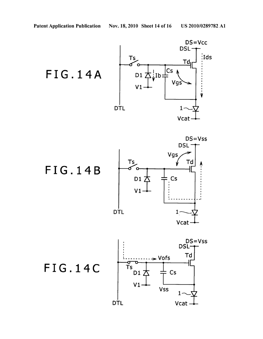 Pixel circuit, display apparatus, and driving method for pixel circuit - diagram, schematic, and image 15
