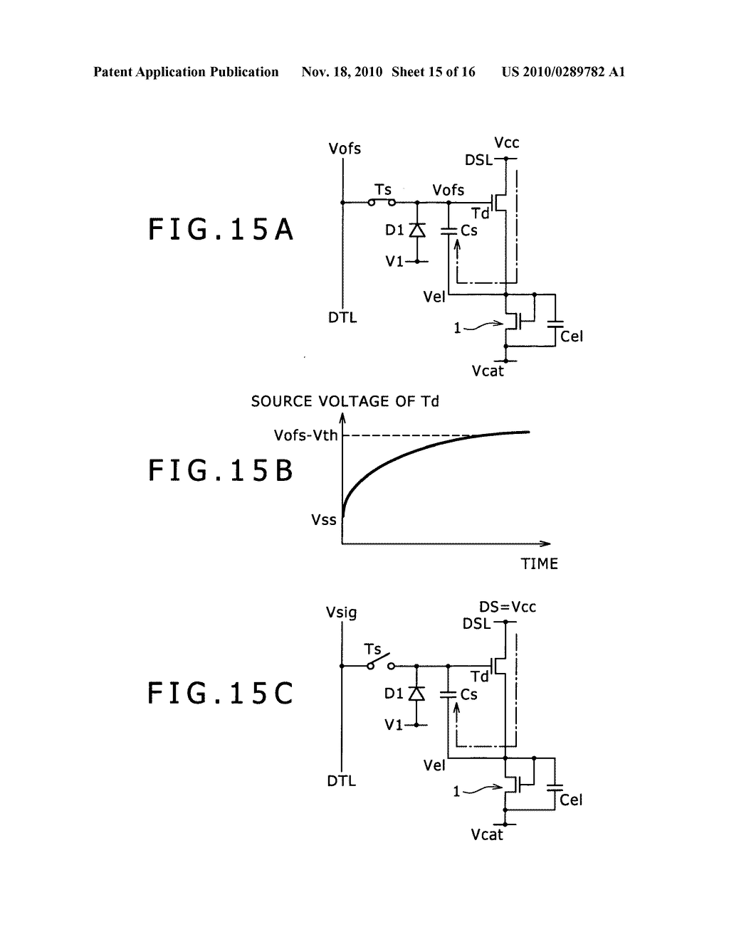 Pixel circuit, display apparatus, and driving method for pixel circuit - diagram, schematic, and image 16