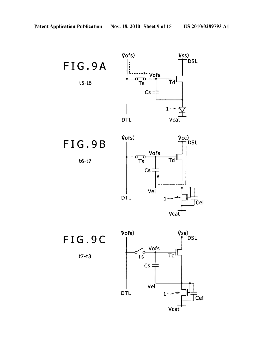 Driving method for pixel circuit and display apparatus - diagram, schematic, and image 10
