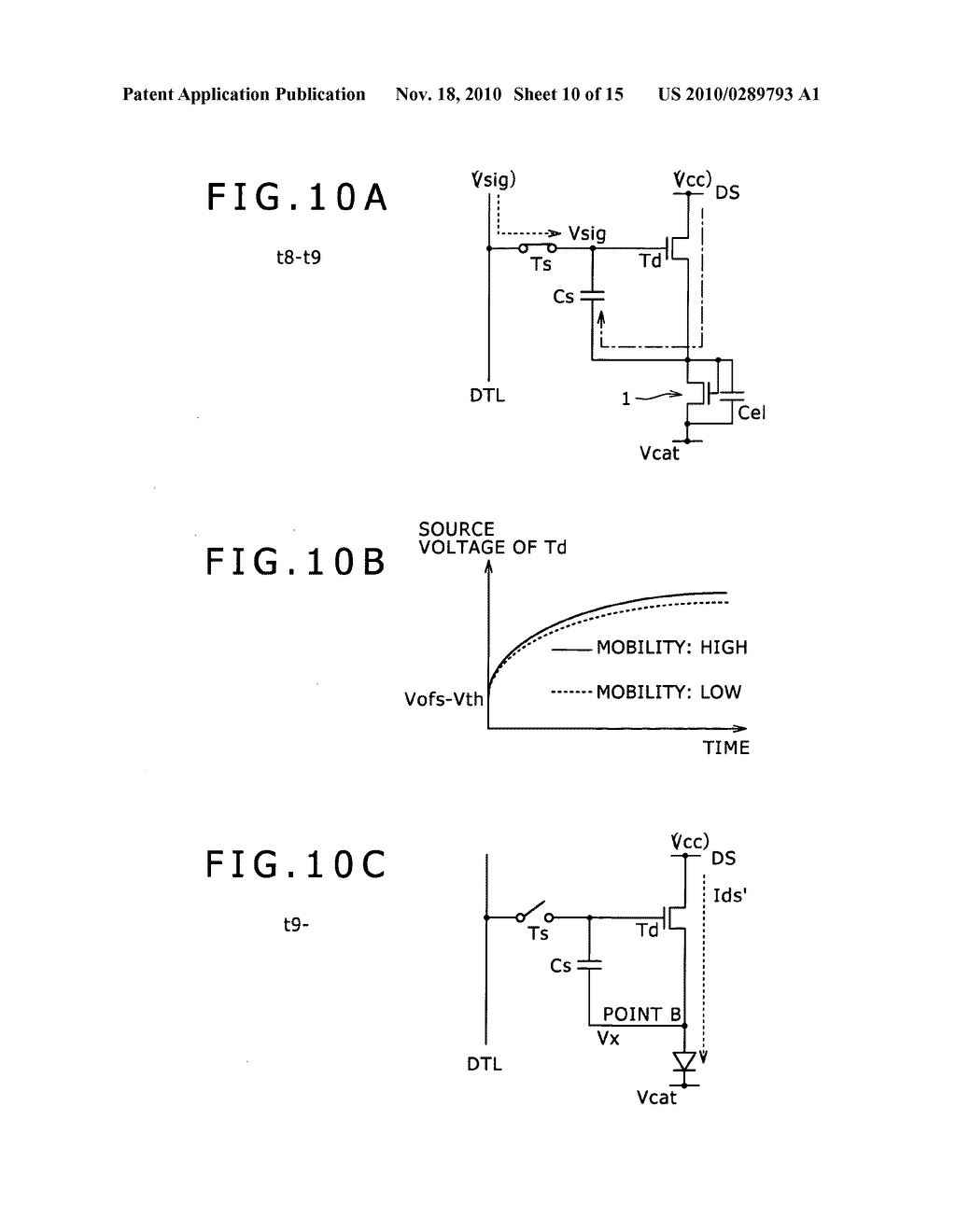 Driving method for pixel circuit and display apparatus - diagram, schematic, and image 11