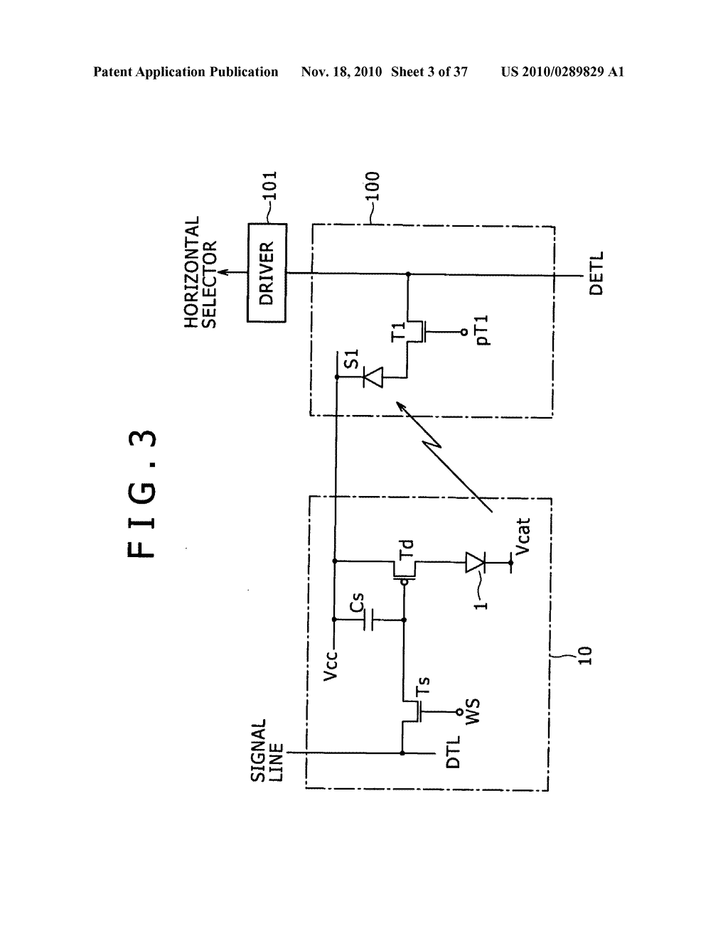 Display apparatus, light detection method and electronic apparatus - diagram, schematic, and image 04