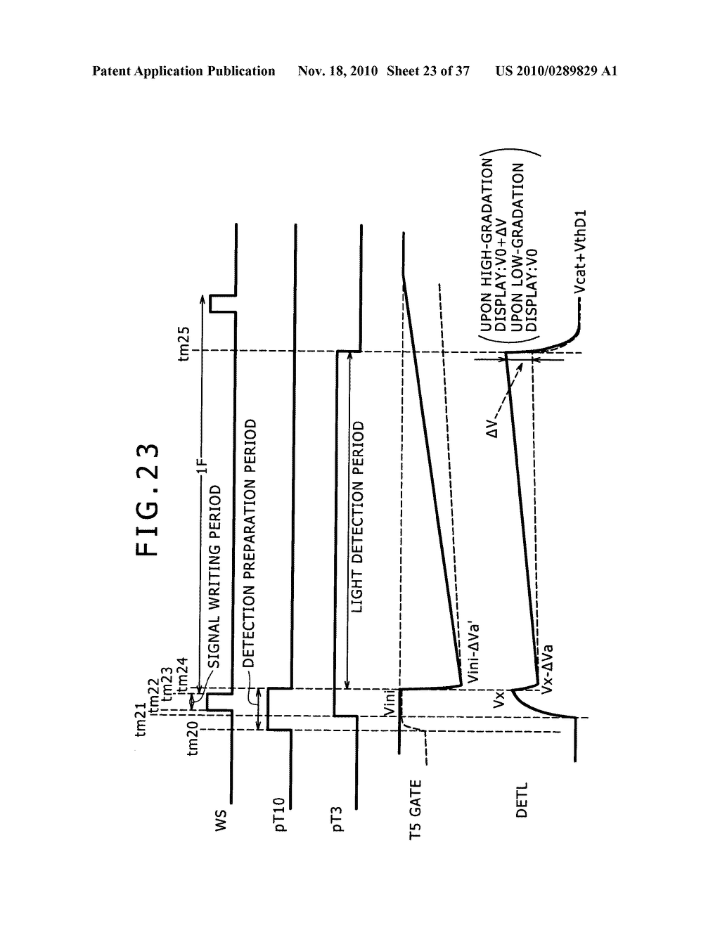 Display apparatus, light detection method and electronic apparatus - diagram, schematic, and image 24