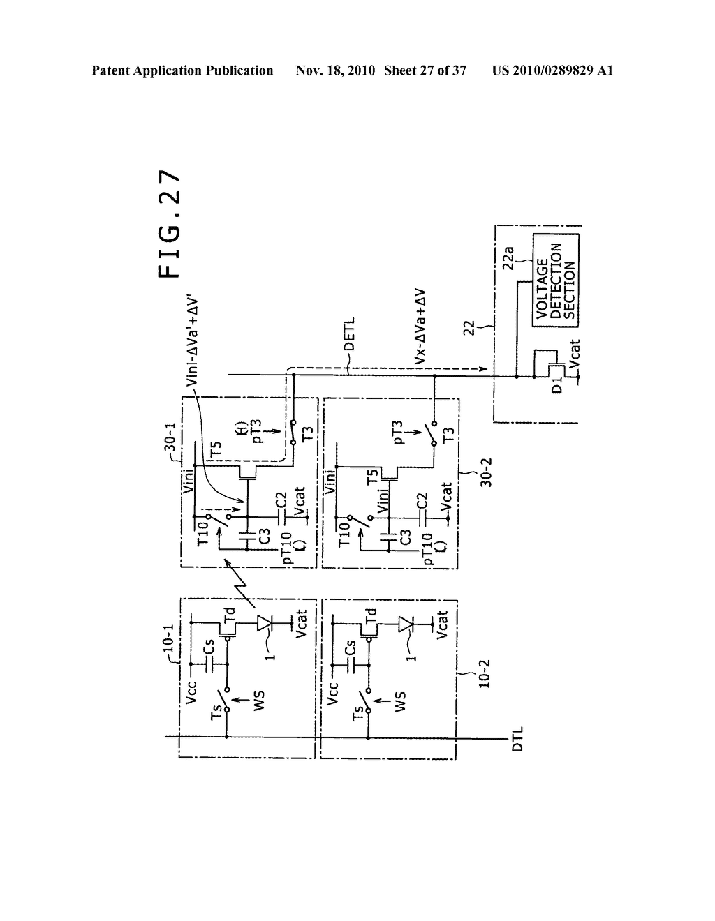 Display apparatus, light detection method and electronic apparatus - diagram, schematic, and image 28