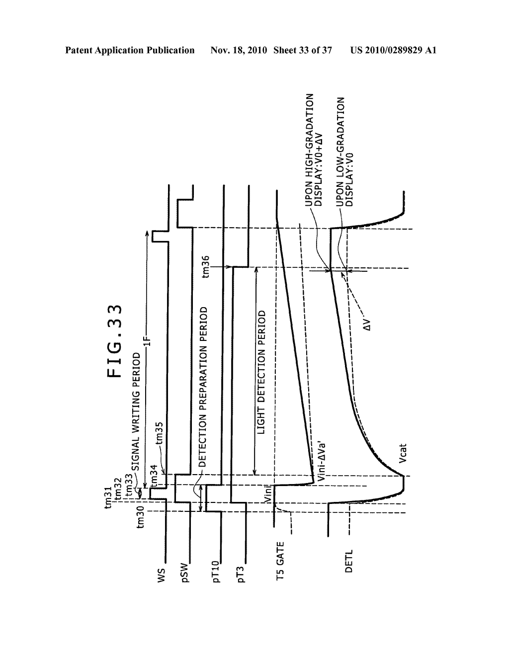 Display apparatus, light detection method and electronic apparatus - diagram, schematic, and image 34