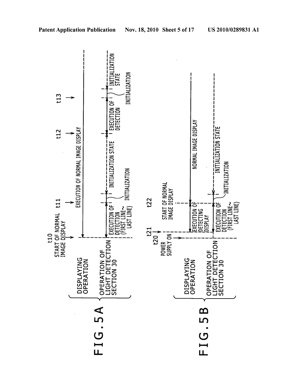 Display apparatus, method for controlling light detection operation - diagram, schematic, and image 06