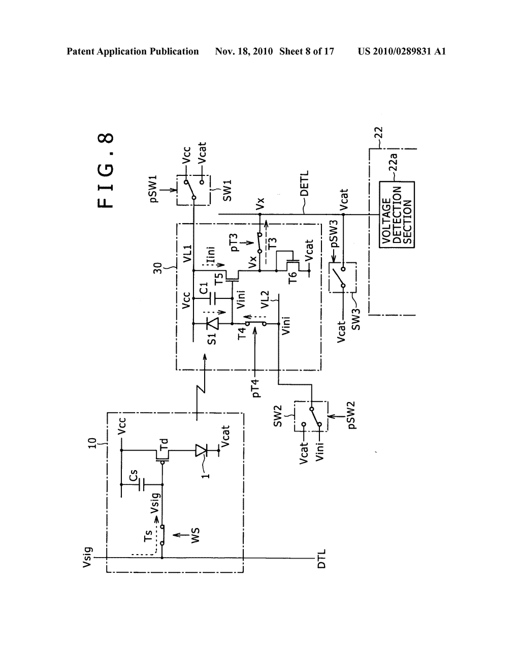 Display apparatus, method for controlling light detection operation - diagram, schematic, and image 09