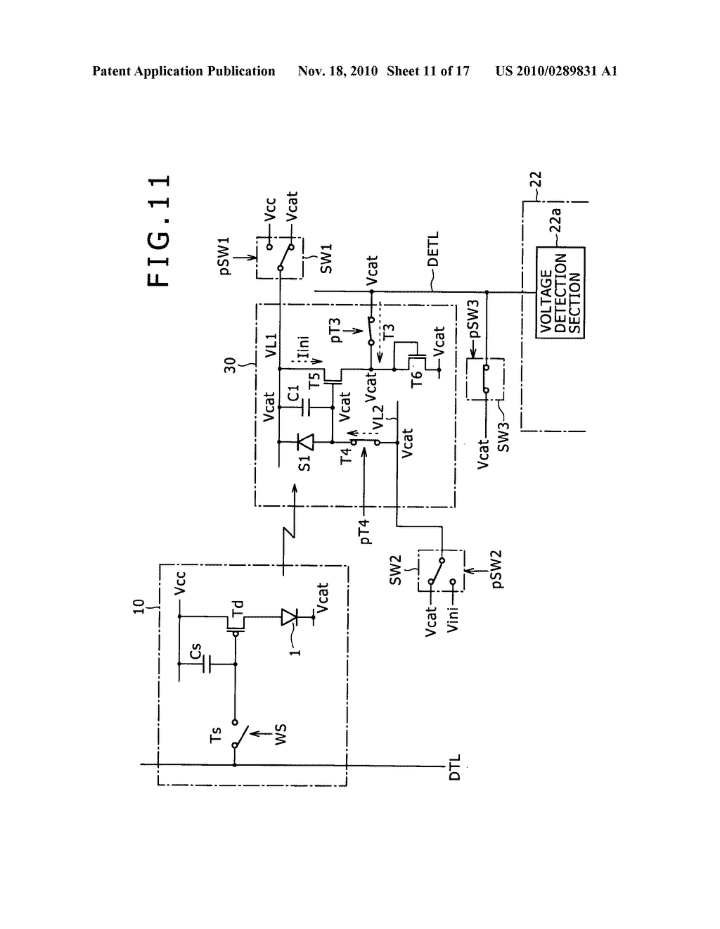 Display apparatus, method for controlling light detection operation - diagram, schematic, and image 12