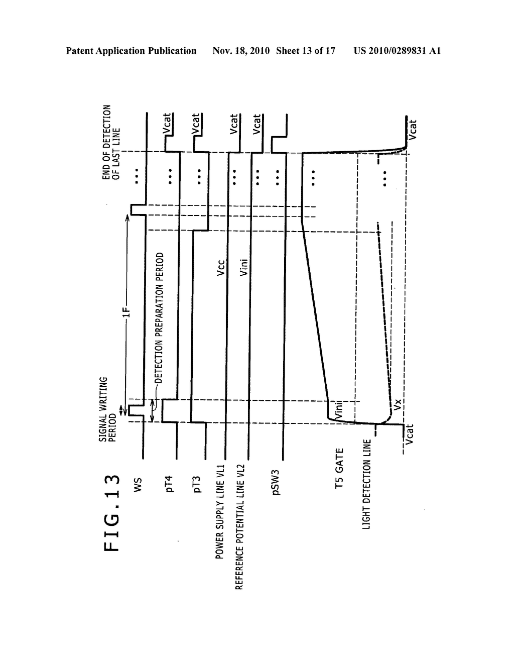 Display apparatus, method for controlling light detection operation - diagram, schematic, and image 14