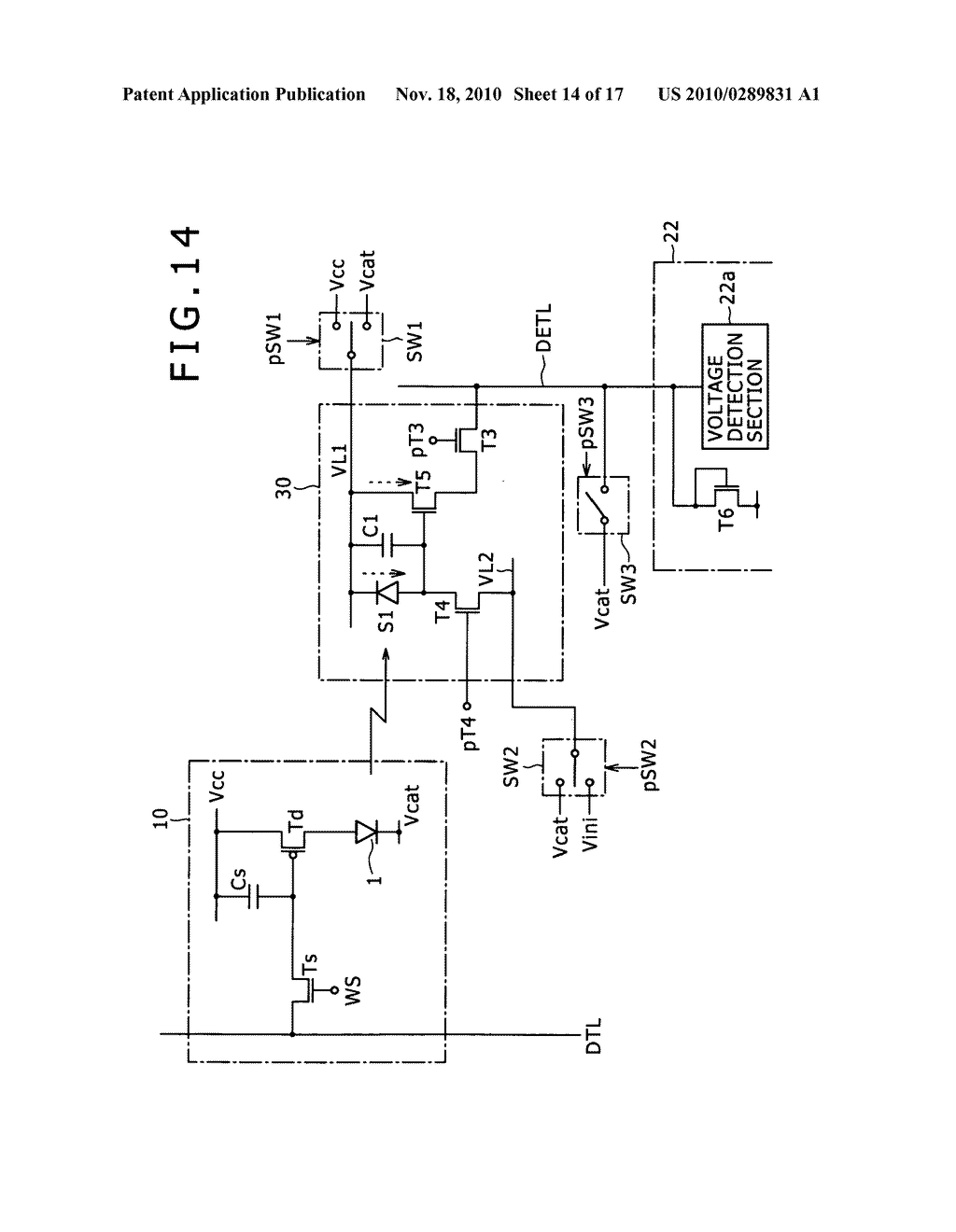 Display apparatus, method for controlling light detection operation - diagram, schematic, and image 15