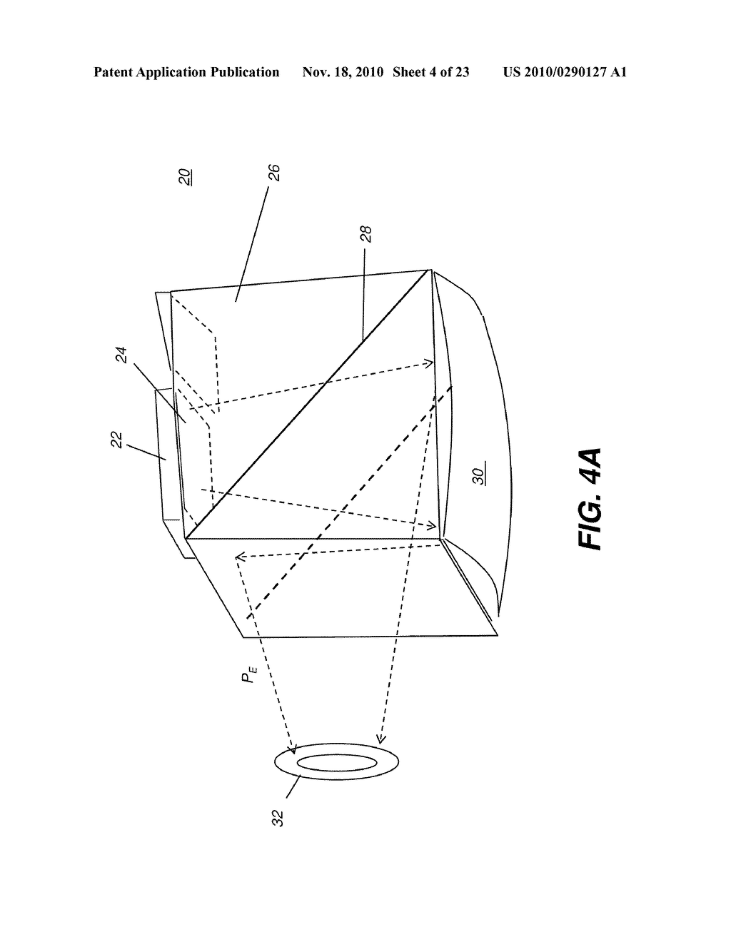 HEAD-MOUNTED OPTICAL APPARATUS USING AN OLED DISPLAY - diagram, schematic, and image 05