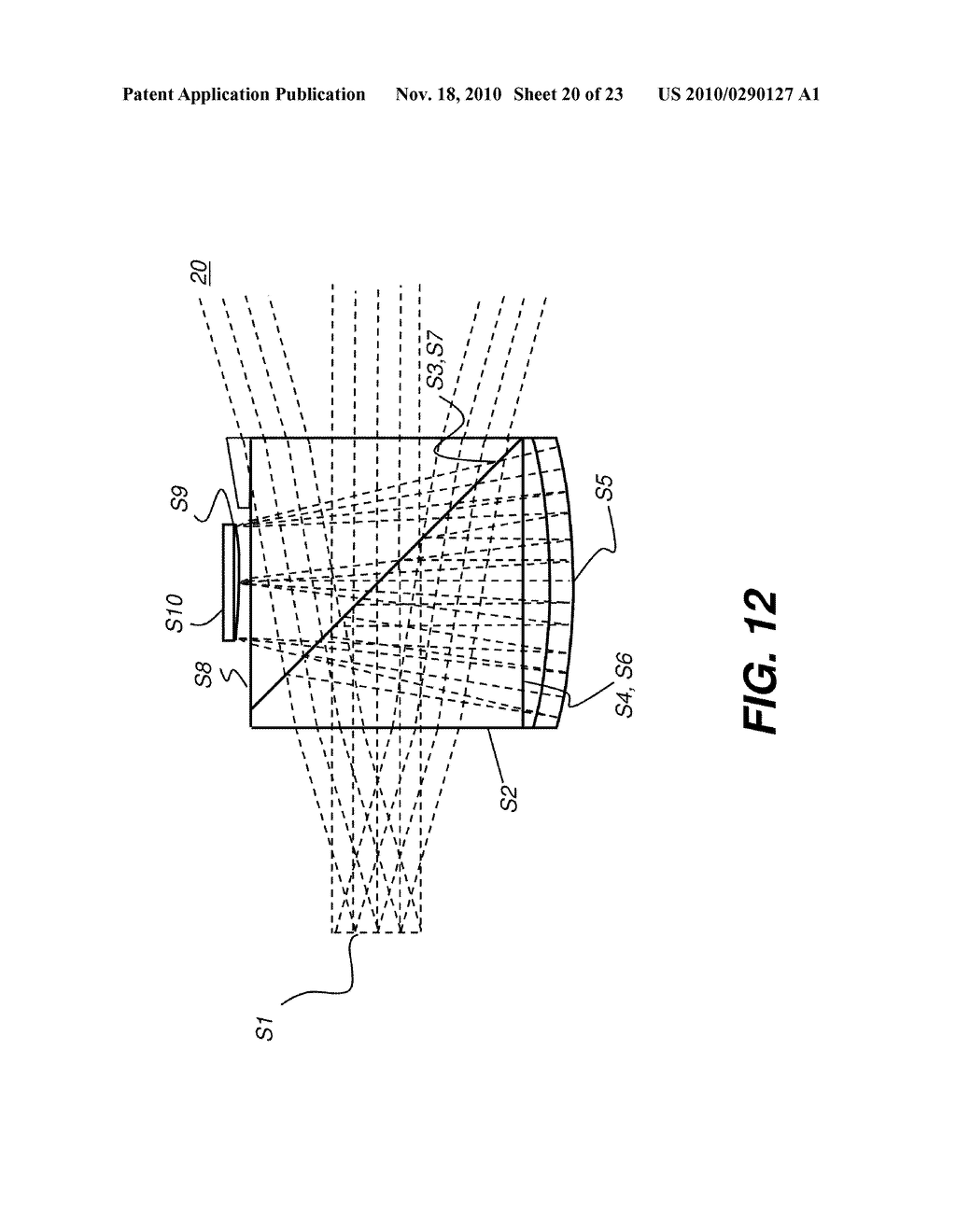 HEAD-MOUNTED OPTICAL APPARATUS USING AN OLED DISPLAY - diagram, schematic, and image 21