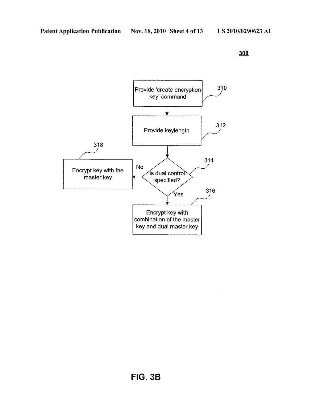 PROTECTION OF ENCRYPTION KEYS IN A DATABASE - diagram, schematic, and image 05