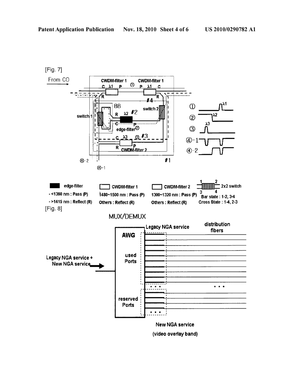 REMOTE NODE CONFIGURATION FOR PROVIDING UPGRADED SERVICES IN A PASSIVE OPTICAL NETWORK AND A PASSIVE OPTICAL NETWORK HAVING THE SAME - diagram, schematic, and image 05