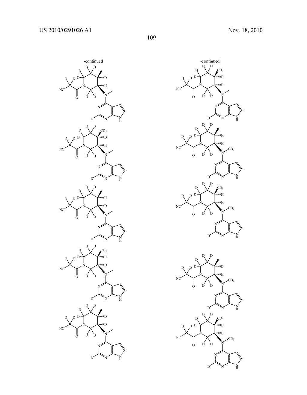 PIPERIDINE INHIBITORS OF JANUS KINASE 3 - diagram, schematic, and image 110