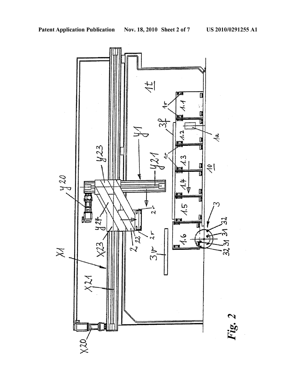 CORRUGATOR DEVICE WITH A MOULD RELEASE DEVICE - diagram, schematic, and image 03