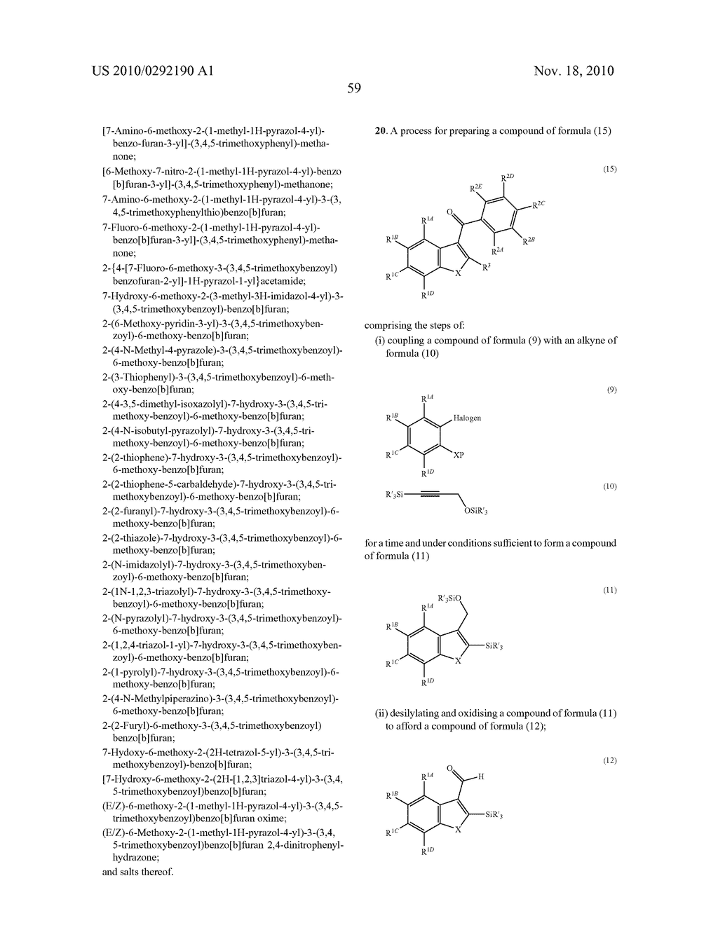 NOVEL TUBULIN POLYMERISATION INHIBITORS - diagram, schematic, and image 61