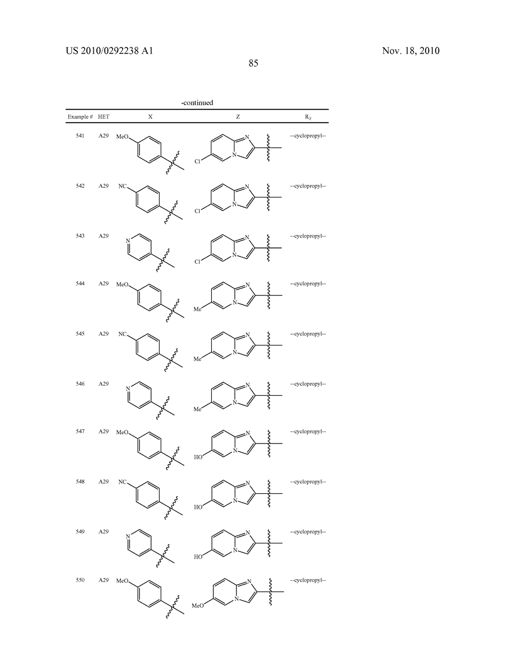 Phenoxymethyl Heterocyclic Compounds - diagram, schematic, and image 86